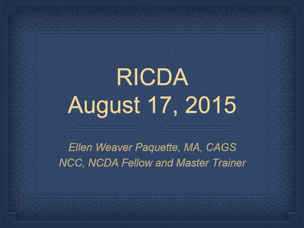 ricda career assessments career consulting concepts ricda career assessments